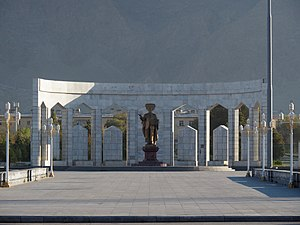 Balkanabat - Monument in Balkanabat