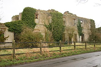 Francis Johnston (architect) - Ruins of Ballynegall House
