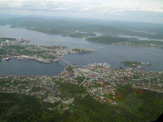 Bamble Municipality in Telemark, Norway