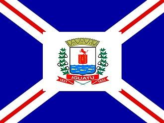 Iguatu - Image: Bandeira de Iguatu