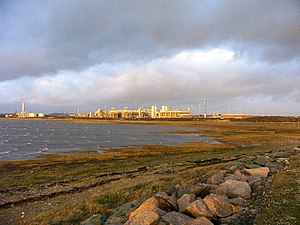 Morecambe Bay - Rampside Gas Terminal