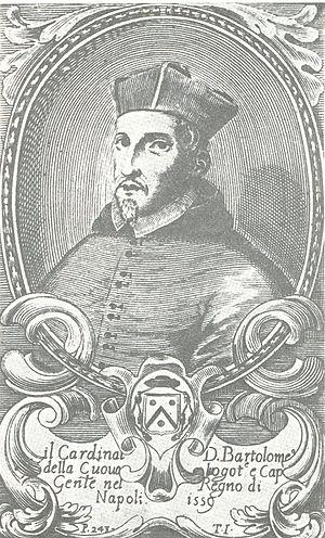 Bartolomé de la Cueva y Toledo - Bartolomé de la Cueva y Toledo