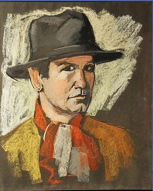 Adrien Bas - Self-portrait (date unknown)