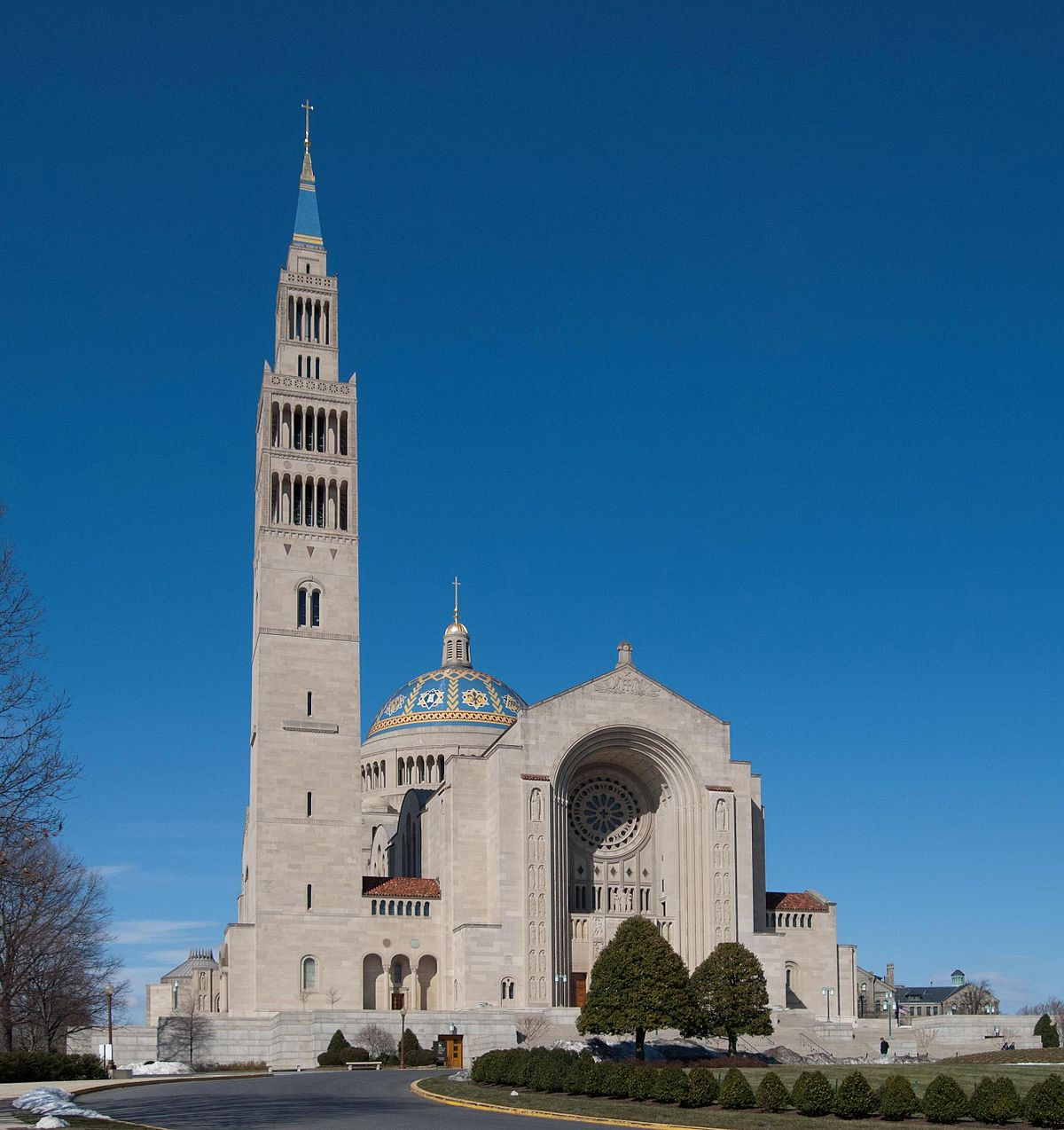 Basilica Of The National Shrine Of The Immaculate Conception  Wikipedia