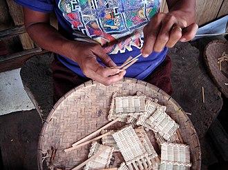 Balilihan, Bohol - Image: Basketweavingbhan