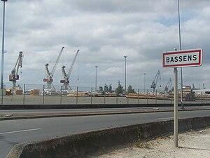 Bassens, Gironde - Docks