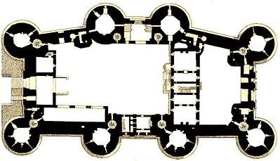 Bastiljen, planritning