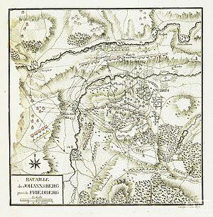 Bataille du Johannsberg pres de Friedberg