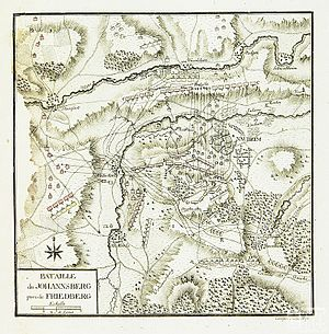 Battle of Nauheim - Bataille du Johannsberg pres de Friedberg