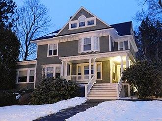 Clayton Spencer - Image: Bates College Presidents House