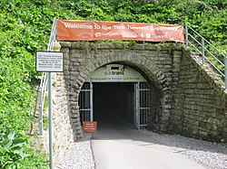 Bath - Devonshire Tunnel north portal (24058356993).jpg