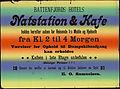 Battenfjords Hotels Natstation and Kafe holdes herefter aaben for Reisende fra Molde og Hjelseth fra Kl. 2 til 4 Morgeen (14103365078).jpg