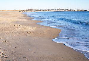 Beach cusps - Beach cusps in Westerly, Rhode Island
