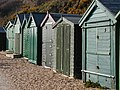Beach huts at Hill Head - geograph.org.uk - 417585.jpg