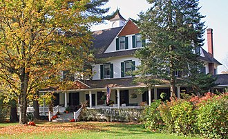 Hardenburgh, New York - Beaverkill Valley Inn in Hardenburgh