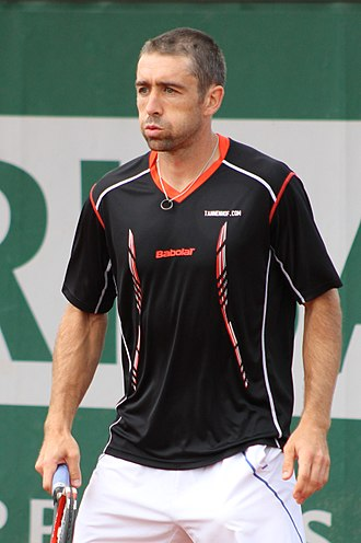 Benjamin Becker - Becker at the 2015 French Open