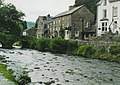 Beddgelert and the bridge - geograph.org.uk - 1214196.jpg
