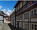 Beeindruckende Fachwerkbauten prägen die Goslarer Altstadt. 04.jpg
