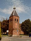 foto van Hervormde kerk 2 Hervormde kerk, vrijstaande toren