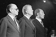 Begin, Carter and Sadat at Camp David 1978