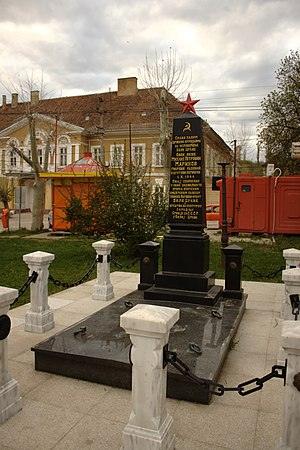 Bela Crkva, Banat - Image: Bela Crkva, památník rudoarmějců