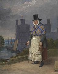 Bellringer of Caernarvon in costume of trade