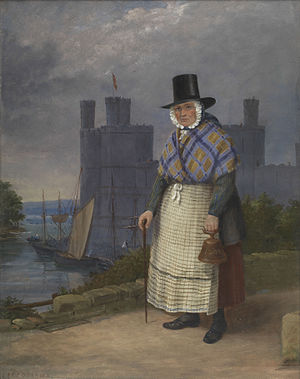 Bellringer of Caernarvon in costume of trade - John Cambrian Rowland.jpg