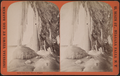 Below Table Rock, win(t)er, Niagara, by Barker, George, 1844-1894.png