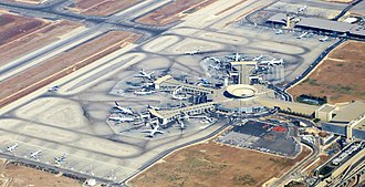 Ben Gurion Airport - Image: Ben gurion airport terminal september 2012 (cropped)