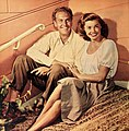 Ben Gage and Esther Williams, 1950.jpg