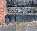 Benchmark at Mersey Road bridge.jpg