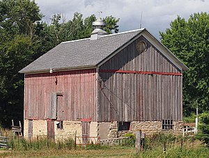 National Register of Historic Places listings in Olmsted County, Minnesota - Image: Benike Family Barn