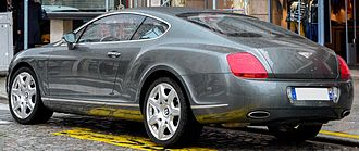 Bentley Continental GT - Bentley Continental GT (France)