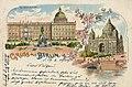 Berlin, Mitte, Berlin - Kgl. Schloss, Nordseite; Neuer Dom (Zeno Ansichtskarten).jpg