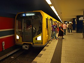 Image illustrative de l'article Métro de Berlin
