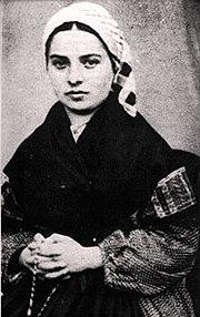 Bernadette soubirous 1 publicdomain