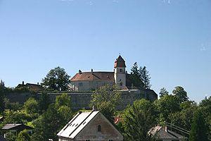 Burg Bernstein von Osten