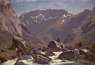 Landscape Study from Simedalen