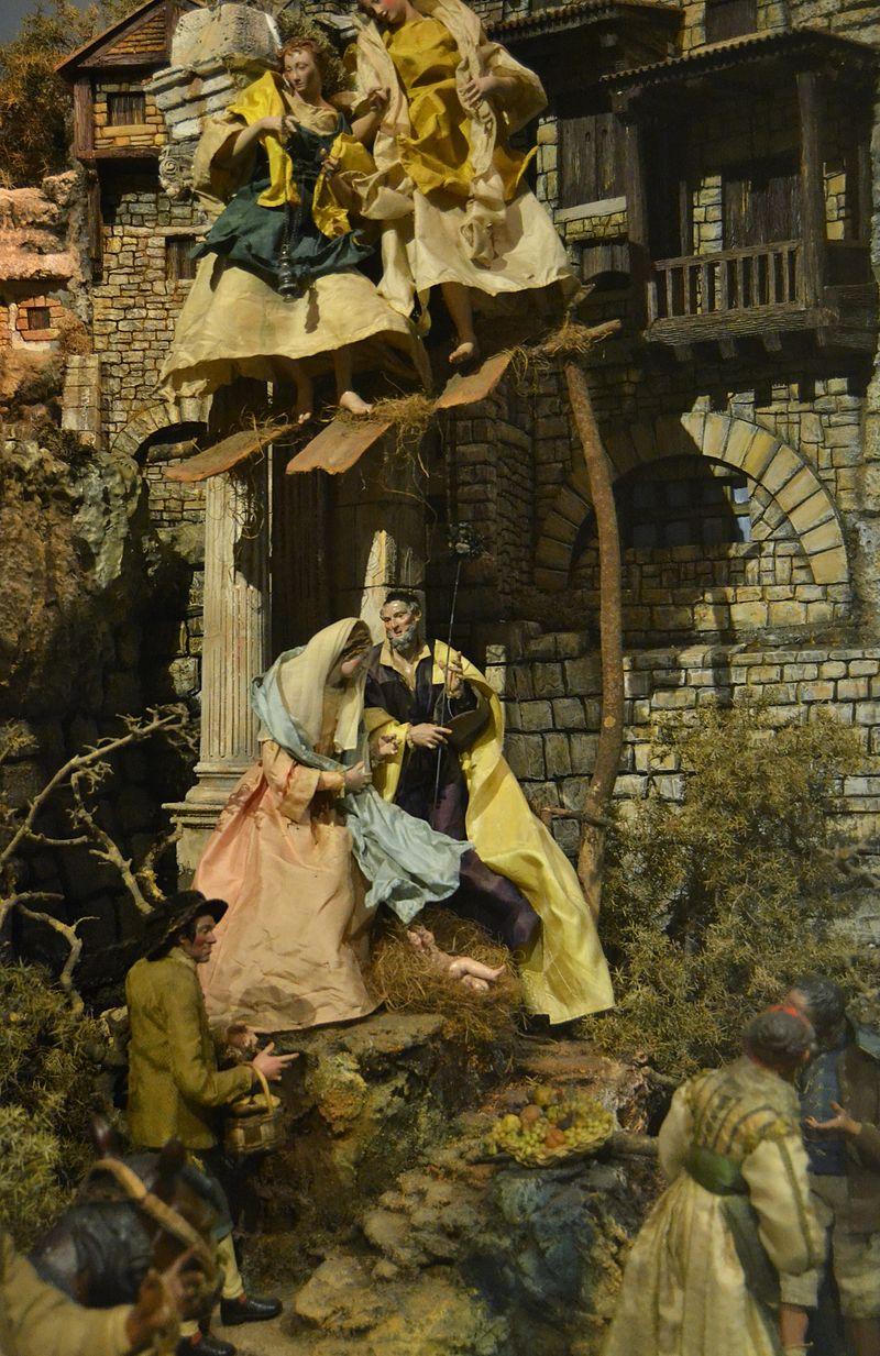 Betlem napolità, museu Nacional de Ceràmica de València.JPG