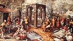 Beuckelaer, Joachim - Die Heilung des Lahmen am Teich Bethesda - 1562.jpg