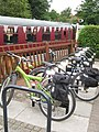 Bicycle Stand, Bitton Railway Station. - panoramio.jpg