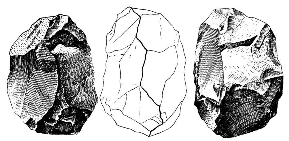 Bifaz nucleiforme (Torralba)