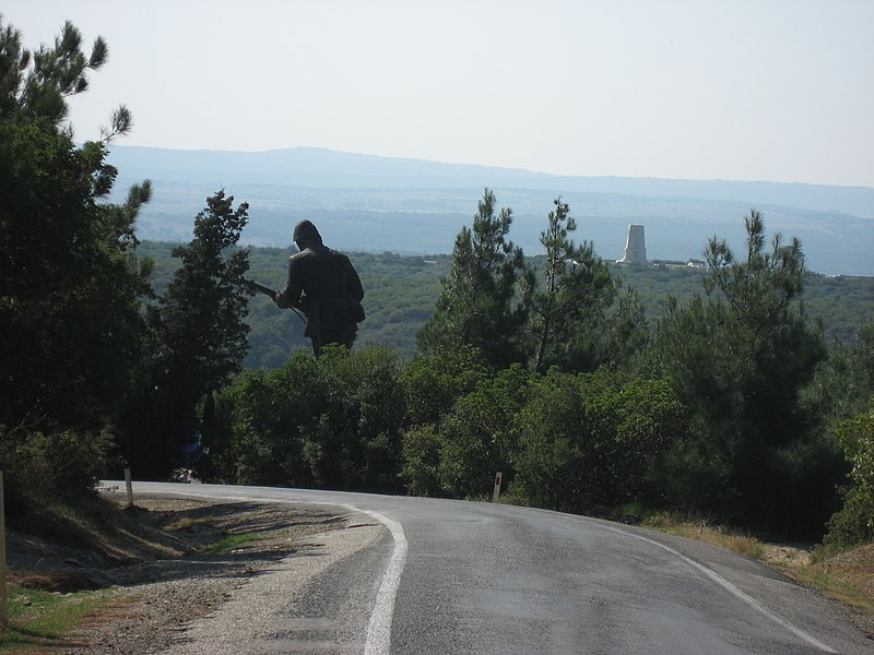 File:Big soldier in the wood - panoramio.jpg