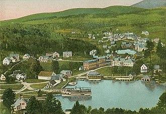 Sunapee, New Hampshire - Sunapee Village in 1909