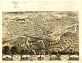 Bird's eye view of the city of Fort Wayne, Indiana 1868. LOC 73693381.jpg