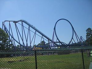Bizarro (roller coaster) - Image: Bizarro at Six Flags Great Adventure