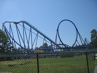 Bizarro (roller coaster) - Image: Bizarro at Six Flags Great Adventure