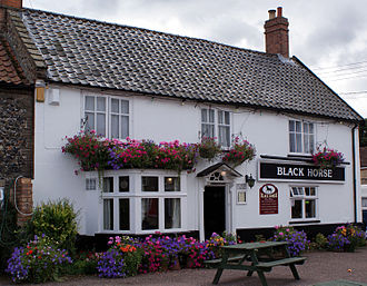 Black Horse, Thetford - The pub in August 2013