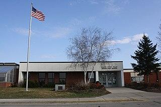 Black River Falls High School School in Black River Falls, Jackson County, Wisconsin, U.S.