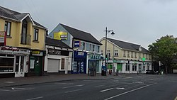 Cross roads on Mill Road and Main Street Blanchardstown